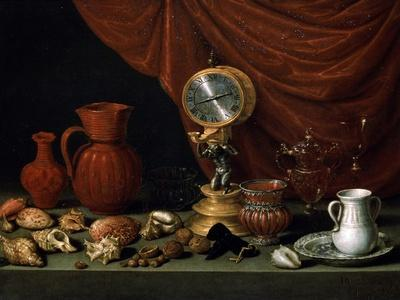 Still Life with a Clock, 1652