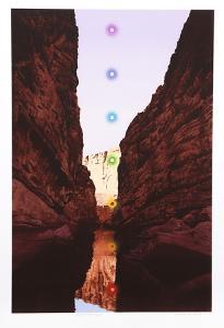 Santa Elena Canyon by Antonio Peticov