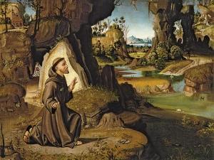 Saint Francis Receiving the Stigmata by Antonio Pirri