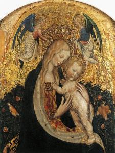 Madonna of Quail by Antonio Pisanello