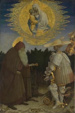 The Virgin and Child with Saints Anthony Abbot and George, C. 1440