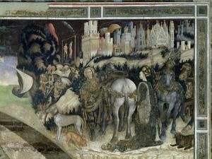 St. George Rescuing the Princess of Trebizond, c.1433-38 by Antonio Pisani Pisanello