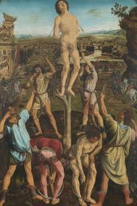 The Martyrdom of Saint Sebastian, 1475 by Antonio Pollaiuolo
