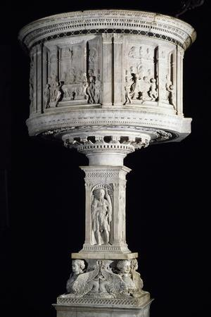 Pulpit Decorated in Relief, 1469-1473