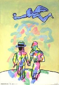 Imagenes contra el sida by Antonio Segui