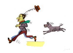 Le chien fou by Antonio Segui
