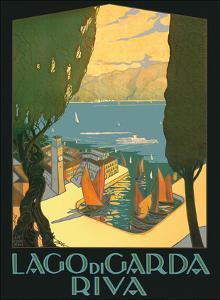 Lago di Garda (Lake Garda) - Riva, Italy by Antonio Simeoni