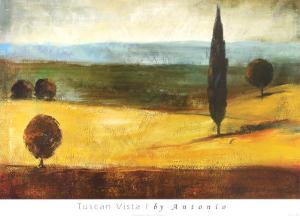 Tuscan Vista I by Antonio