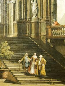 Concert at the Villa by Antonio Visentini