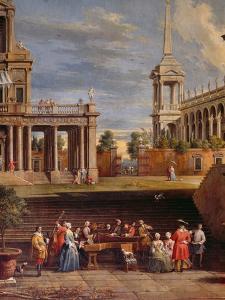 The Concert in the Garden by Antonio Visentini