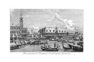 Venice: Bucintoro, 1735 by Antonio Visentini