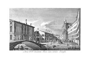 Venice: Campo Dei Gesuiti by Antonio Visentini