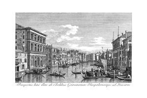 Venice: Grand Canal, 1735 by Antonio Visentini