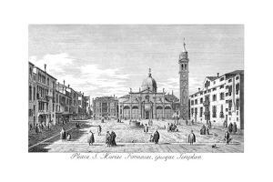 Venice: Maria Formosa by Antonio Visentini
