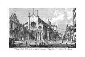 Venice: Monument, 1735 by Antonio Visentini