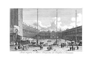 Venice: Piazza San Marco by Antonio Visentini