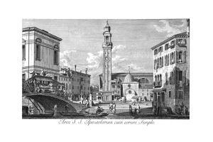 Venice: Santi Apostoli by Antonio Visentini