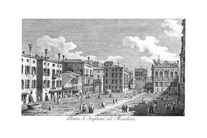 Venice: Stefano, 1735 by Antonio Visentini