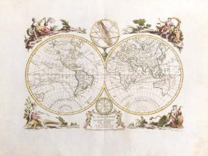 Il Mappa Mondo, 1774 by Antonio Zatta