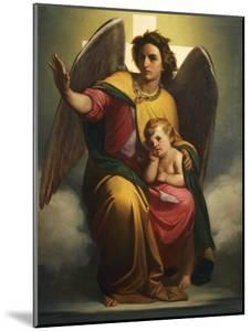 Guardian Angel, 1854 by Antonio Zona