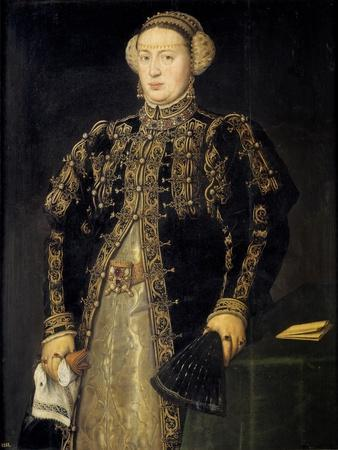 Catherine of Austria (1507-157), Queen of Portugal, 1552-1553