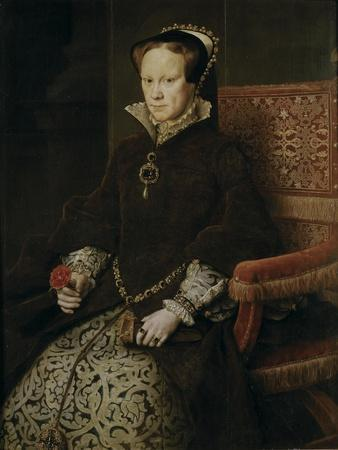 Portrait of Mary I of England, 1554