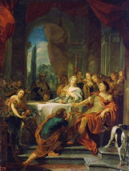 Antony and Cleopatra, 17th or Early 18th Century-Gerard De Lairesse-Giclee Print