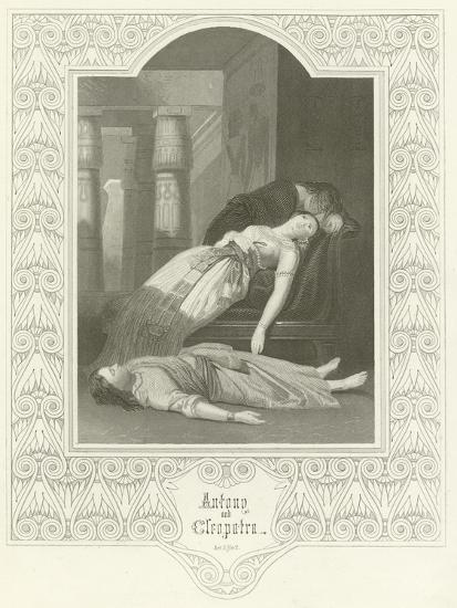 Antony and Cleopatra, Act V, Scene II-Joseph Kenny Meadows-Giclee Print