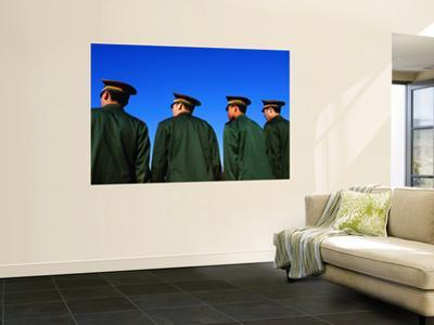 Chinese Soldiers on Parade