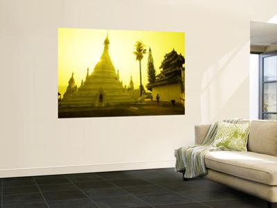 Sunrise at Wat Phra That Doi Khong Mu