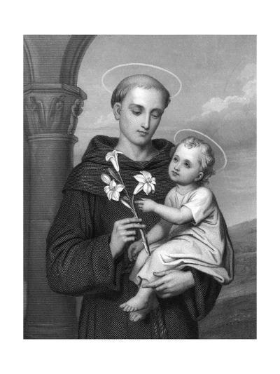 Antony of Padua--Giclee Print