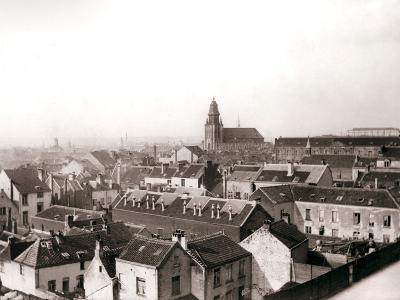 Antwerp Skyline, 1898-James Batkin-Photographic Print