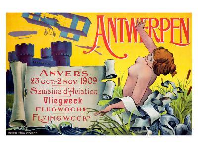 Antwerpen--Giclee Print