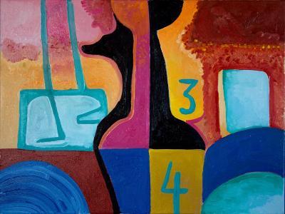Anubis Brings Forth Basic Numbers, 2010-Jan Groneberg-Giclee Print