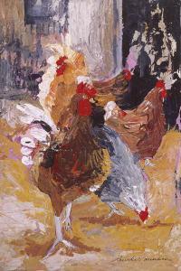 Outside the Barn by Anuk Naumann