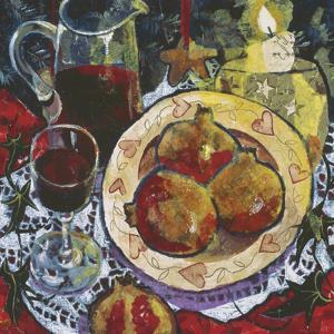 Pomegranates by Anuk Naumann