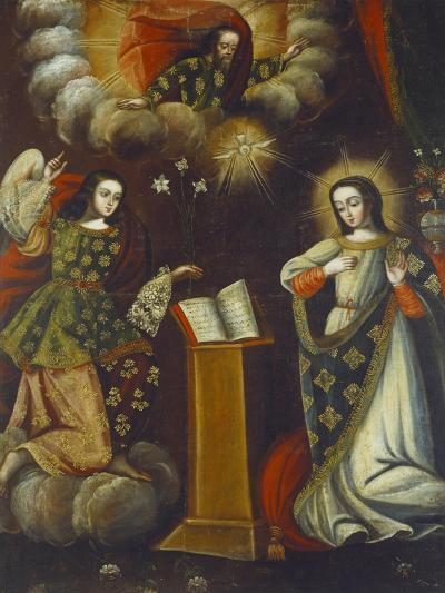 Anunciation, 18th Century--Giclee Print