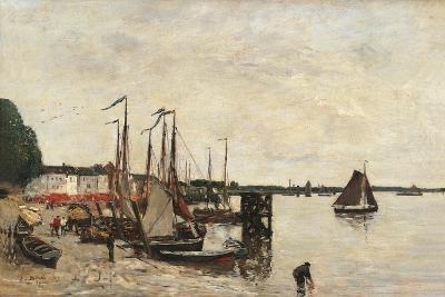 Anvers, the Port-Eug?ne Boudin-Art Print