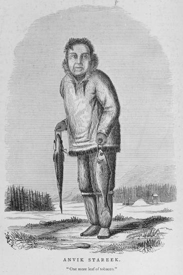Anvik Stareek or 'One More Leaf of Tobacco', from 'Alaska and its Resources'--Giclee Print