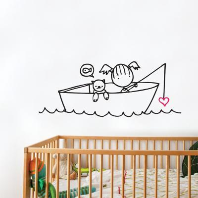 Any Bites? Wall Decal--Wall Decal