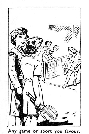 'Any game or sport you favour', 1940-Unknown-Giclee Print