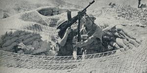 Anzacs on Guard in Egypt, 1940, (1940)