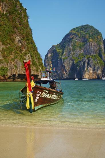 Ao Maya Bay, Ko Phi Phi Le Island, Krabi Province, Thailand, Southeast Asia, Asia--Photographic Print