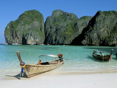 Ao Maya, Phi Phi Le, Ko Phi Phi, Krabi Province, Thailand, Southeast Asia-Bruno Morandi-Photographic Print