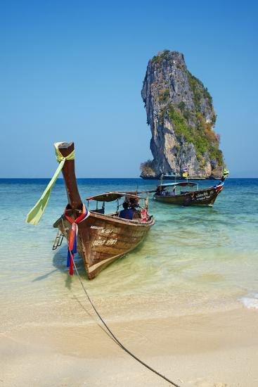 Ao Phra Nang Bay, Ko Poda Island, Krabi Province, Thailand, Southeast Asia, Asia--Photographic Print