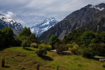 Aoraki/Mount Cook National Park, Southern Alps, Canterbury, South Island, New Zealand-Suzan Moore-Photographic Print