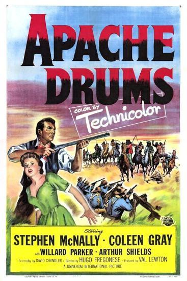 Apache Drums--Art Print