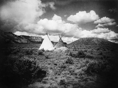 Apache Tepees, C1909--Photographic Print