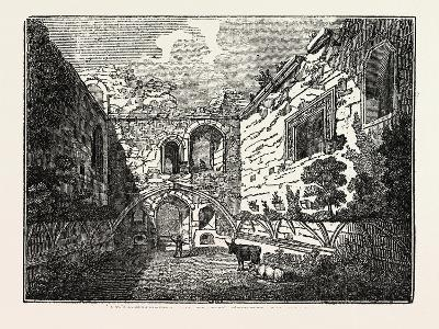 Apartments of Mary Queen of Scots in Tutbury Castle, Tutbury, Staffordshire, England, Uk--Giclee Print