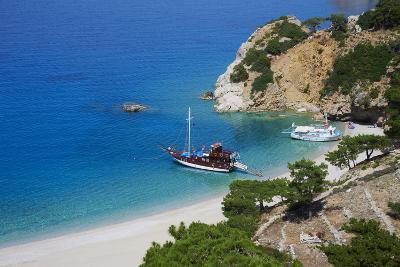Apella Beach, Karpathos Island, Dodecanese, Greek Islands, Greece, Europe-Tuul-Photographic Print